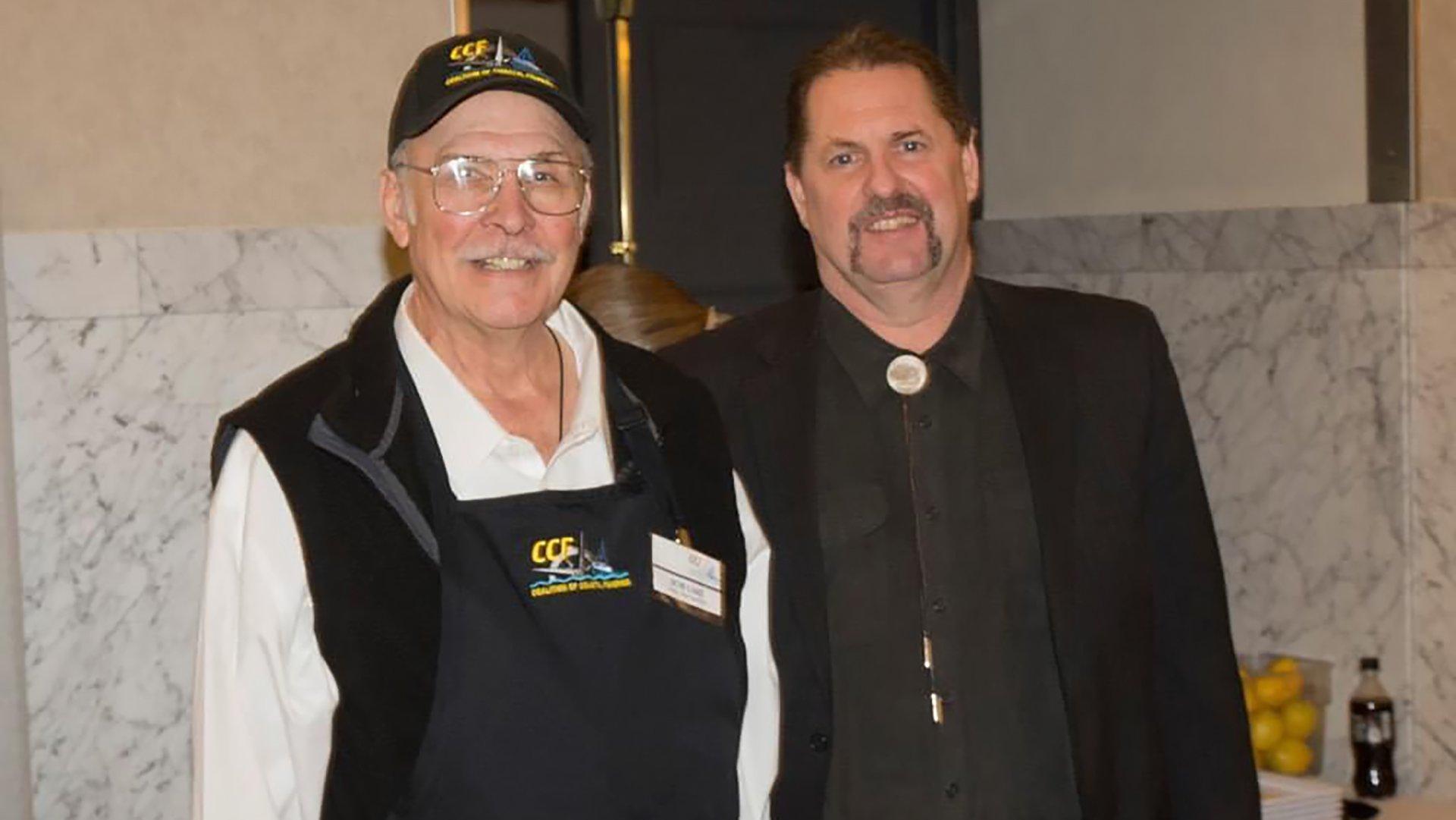 In Memoriam - Bob Lake (on left with Brian Blake)